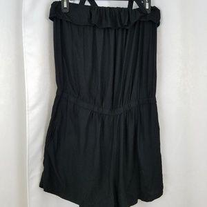 H&M Black Romper Size Medium